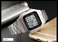 Skmei 1337 S серебристые мужские часы