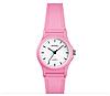 Кварцевые детские часы SKMEI 1401 светло розовые, фото 4
