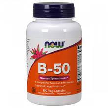 B-Комплекс 50, Now Foods, 100 гелевых капсул