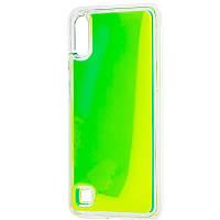 Чехол для Samsung Galaxy A10 (A105F), Neon Sand glow in the dark, неоновый