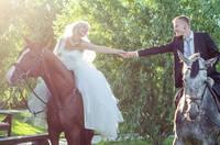 Проведение свадьбы В СЕМЕЙНОМ КОННОМ КЛУБЕ DERGACHOV