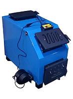 Котел  длительного горения Огонек - ДГ16 кВт (касетная шахта)
