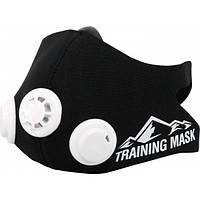 Маска для тренировки дыхания Elevation Training Mask Black