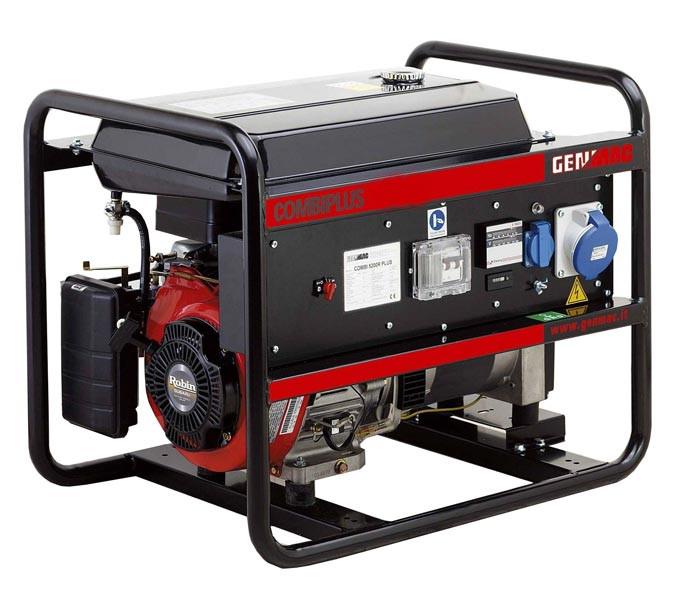 Дизельний однофазний генератор Genmac Combiplus 4000LE (3,7 кВт)