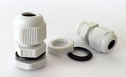 Кабельные гланды герметичный ввод IP68/54 сальник гермоввод для щитка с контргайкой и резиновой прокладкой