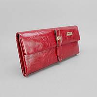Кошелек кожаный женский красный JCCS 1008, фото 1