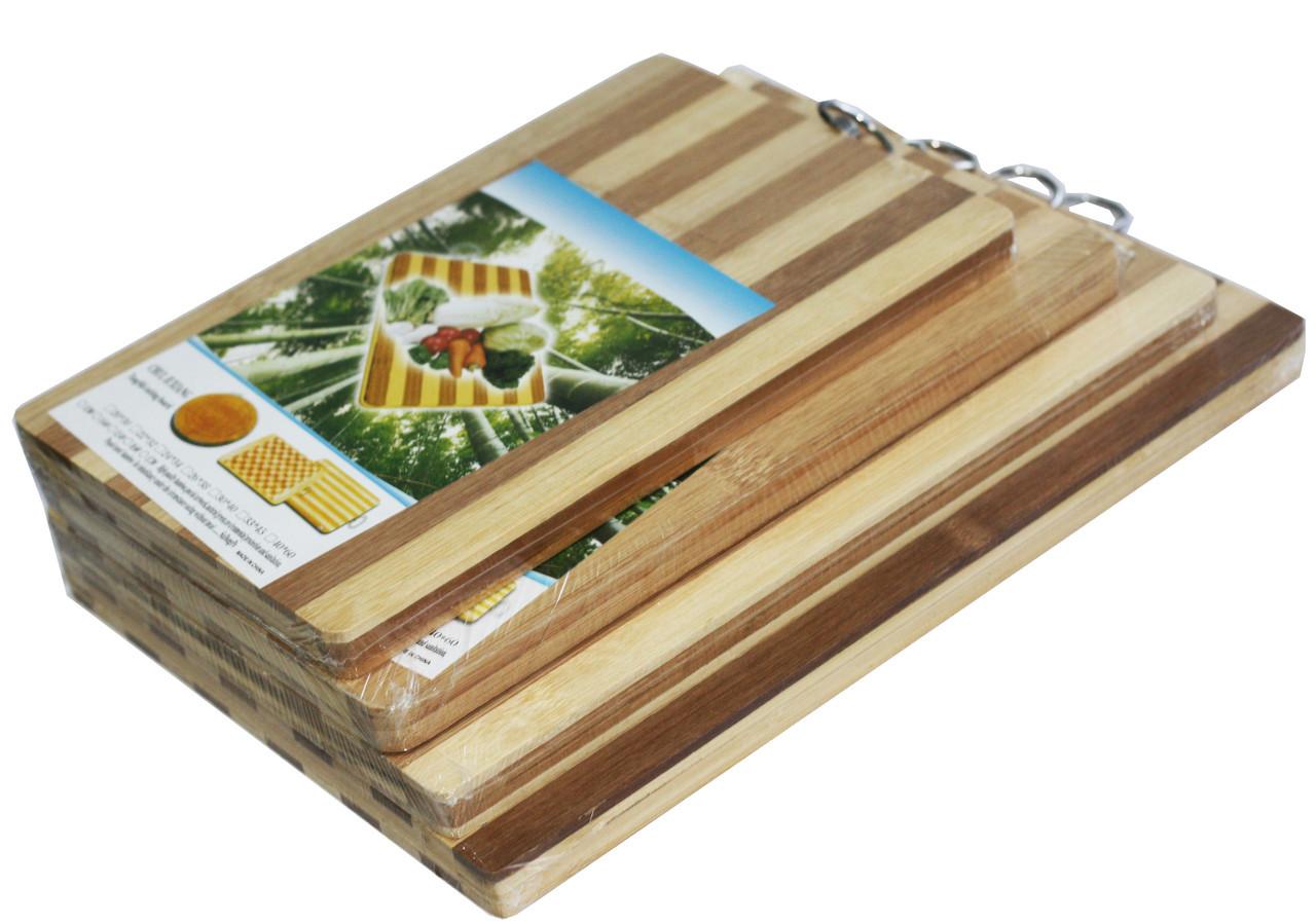 """Доски кухонные """"Бамбук"""" (180х280mm) разделочные доски"""