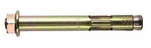 Анкер однораспорный с гайкой М6/8Х40 (100 шт/уп)