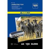 Плівка для ламінування A4 BUROMAX 125мкм 100 шт.
