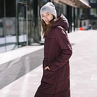 """""""Марсала"""" Зимняя слингокуртка 3 в 1 Love & Carry Зима 2020 Пальто для беременных, фото 1"""