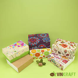 Коробки для пирожного (высота 6-10 см)