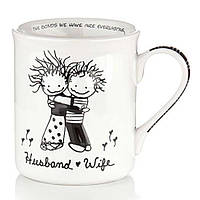 Чашка Муж и Жена 400 мл