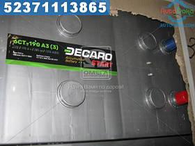 ⭐⭐⭐⭐⭐ Аккумулятор  190Ah-12v DECARO START(513х223х217), L,EN1250  6СТ-190 АЗ (3)