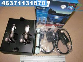 ⭐⭐⭐⭐⭐ Лампа светодиодная LED H4 X-treme Ultinon Gen2 +250 (производство  Philips)  11342XUWX2