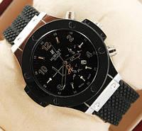 Наручные мужские часы Hublot Silver, часы Хаблот Сильвер