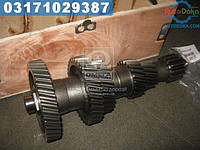 ⭐⭐⭐⭐⭐ Вал промежуточный КПП ГАЗ 3309 (Дорожная Карта)  3309-1701050