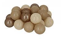 Гирлянда тайские шарики Lighteer Technology Limited Fame Cotton Balls 30led 6х540см на батарейках АА (0107)