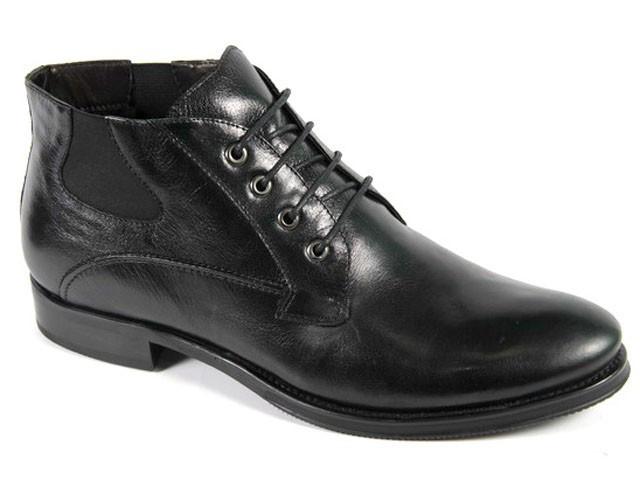 Мужские зимние ботинки на шнуровке VITTORIO VENTURA 18147B01-M  45
