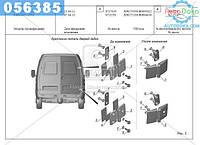 ⭐⭐⭐⭐⭐ Дверь задка ГАЗ 2705,3221 (без окна) правая (новые двери+старые петли) (производство  ГАЗ)  2705-6300014-31