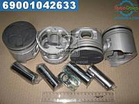 ⭐⭐⭐⭐⭐ Поршень (комплект на мотор) МИТСУБИШИ STD 4M40 ALFIN усиленый (производство  TEIKIN)  43673A.STD