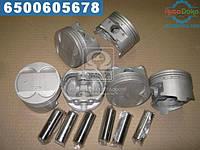 ⭐⭐⭐⭐⭐ Поршень (комплект на мотор) Mitsubishi 6G72 SOHC 24V d91.1+0.50 (производство  TEIKIN)  43669.050