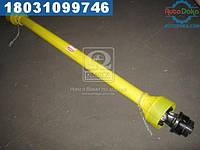 ⭐⭐⭐⭐⭐ Вал карданный 8х6 (400НМ) 1500-2500 мм с обгонной муфтой (ПРФ, ПРТ)(производство  Украина)  T4.1500.2500ANKR