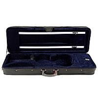 Кофр для скрипки размер 1/8 синий бархат