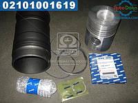 ⭐⭐⭐⭐⭐ Гильзо-комплект ЯМЗ 236 (ГП+Кольца+палец+уплотнительные кольца) Поршень Комплект (производство  ЯМЗ)  236-1004006