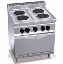 Плита електрична Bertos E7P4+FE1