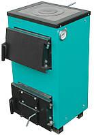 Котел твердотопливный ProTech ТТП-15 Lux (мощность 15 кВт, охлаждаемые колосники и варочная плита), фото 1
