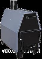 Отопительно-варочная печь длительного горения Protech Zubr-ПДГ-10