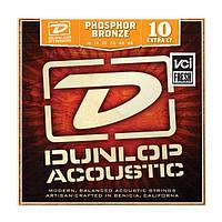 Струны для акустической гитары Dunlop DAP1048 Phosphor Bronze Extra Light (010-048)