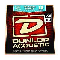 Струны для акустической гитары Dunlop DAP1254 Phosphor Bronze Ligh (012-054)