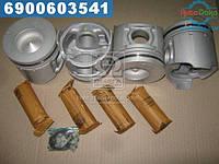 ⭐⭐⭐⭐⭐ Поршень (комплект на мотор) МИТСУБИШИ STD 4D35 ALFIN усиленый (производство  TEIKIN)  43608A.STD