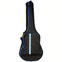 Чехол для акустической гитары HA-WG 41Z без утеплителя с синим орнаментом