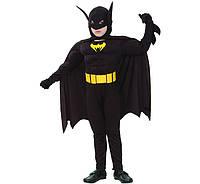 Костюм карнавальный Бэтмен рост 130-140 см