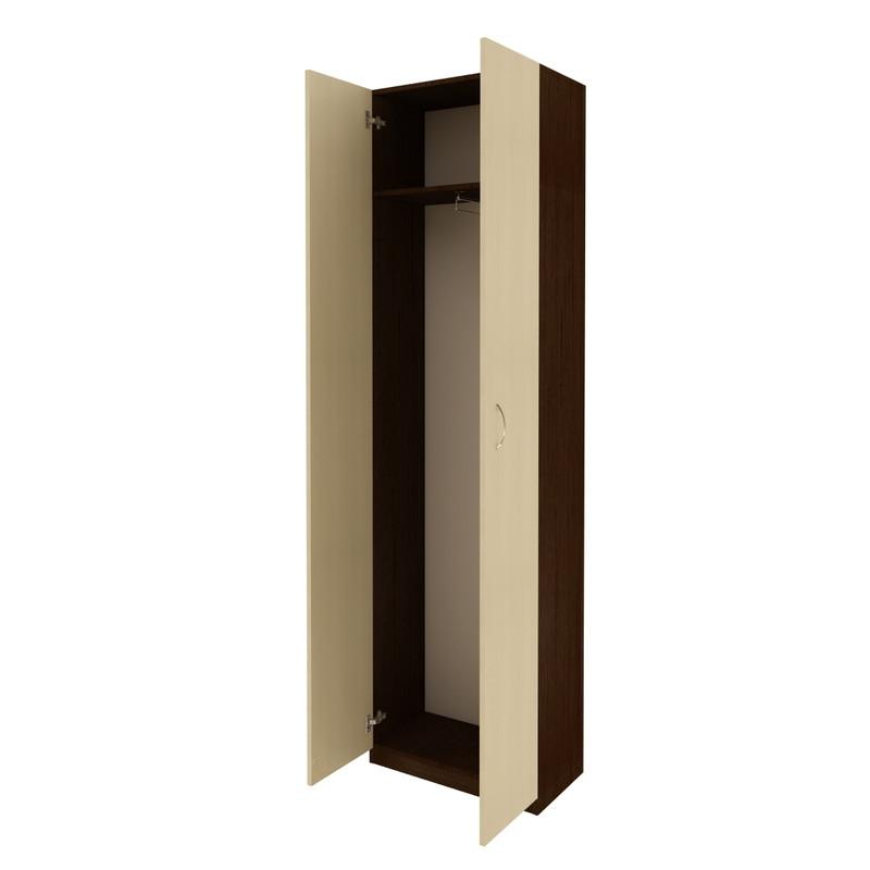Шкаф гардероб для одежды FlashNika Ш-21 ШхГхВ 600х330х2150 мм