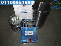 ⭐⭐⭐⭐⭐ Гильзо-комплект КАМАЗ 740 с низким поршнем (ГП+Кольца+Палец) Поршень Комплект (бренд  КамАЗ)  740.1000128-09