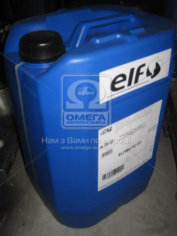 ⭐⭐⭐⭐⭐ Масло трансмиссионое ELF Elfmatic G3 (Бочка 20л)  127702