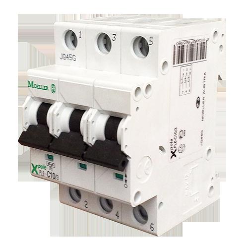 Автоматический выключатель In=2 А, 3п, B, 6 kA   CLS6-B2/3 (PL6-B2/3) _Moeller-SALE