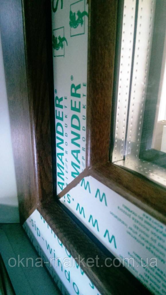 Ламинированные металлопластиковые окна Salamander