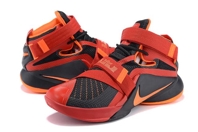 Баскетбольные кроссовки Nike Soldier 9