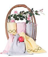 """Полотенце махровое, с вышивкой, """"Terry Lux"""" Браслет (розовый)"""