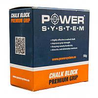 Магнезія спортивна для рук Блок PowerSystem - CHALK BLOCK 56G