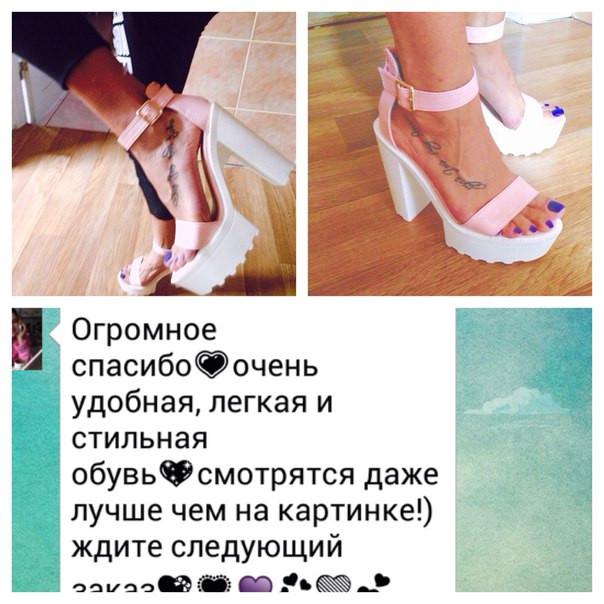 Обувные обновочки. Фотоотчеты наших покупателей