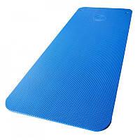 Коврик для йоги и фитнеса синий Power System Fitness Mat Premium PS-4088 Blue