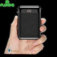 Портативный аккумулятор Power Bank FLOVEME 10000 mAh мини с дисплеем