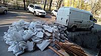 Вывоз строительного мусора от 500 грн Грузчики Спуск с этажа