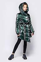 """Зимнее модное пальто для девочки """"Кэсси"""" 146,152,158р"""