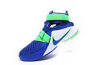 Баскетбольные кроссовки Nike Soldier 9 blue-green